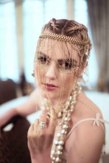 Designer : Pangea Kali Virga   Photographer : Caleb Blansett, Hair : Geena Mericle, Manicurist : Je'Ree Humbly, MUA : Courtnie Marie Ross   Accessories : Mark Southerland, Ngan Vuong, Sydney Pener, Sarah E Xeno - March 2016