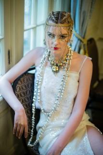 Designer : by Pangea Kali Virga   Photographer : Jeff Evrard, Hair : Geena Mericle, Manicurist : Je'Ree Humbly, MUA : Courtnie Marie Ross   Accessories : Mark Southerland, Ngan Vuong, Sydney Pener, Sarah E Xeno - March 2016