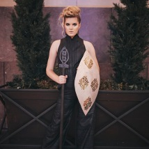 AnnMann Designs X Andrea Long Kansas City Fashion Week SS'17 | Accessories : Christine Nelson of AnnMann Designs, Clothing : Andrea Long, Photographer : Paper People Photography, MUA : Corien Shaw, Hair : Anna Claire Hurt