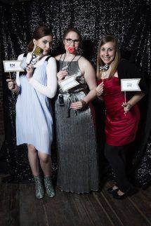 with Kelsie O'Brien (middle) and Clarissa Skinner (far right)   photo : Ryan Swartzlander