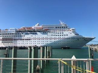 Our cruise ship