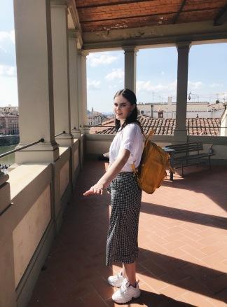 Terrace at Accademia Italiana