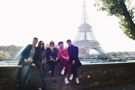 Eiffel Tower across the Siene