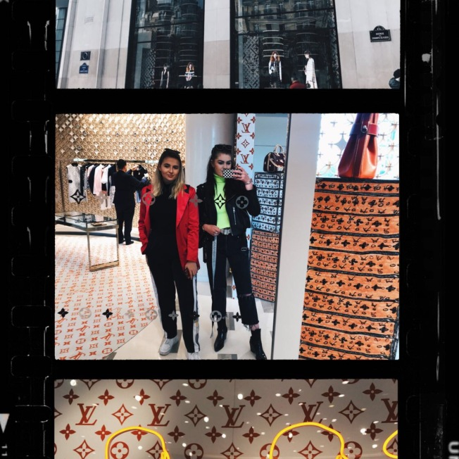 Louis Vuitton on the Champs-Elysees